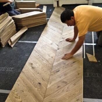 Flooring work 3