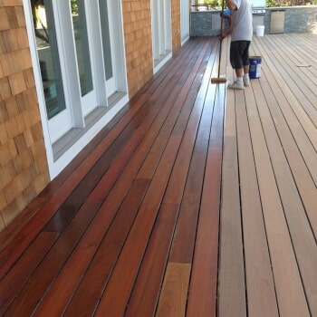Outdoor flooring work by Sota Floors in New York, NY