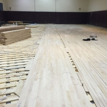 Commercial flooring work in New York, NY
