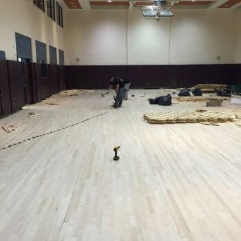 Flooring work 11
