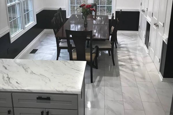 Get tile flooring installed in your Fort Bragg, NC kitchen by Cape Fear Flooring and Restoration