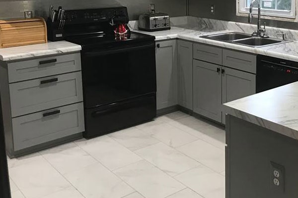 Cape Fear Flooring and Restoration will renovate your Lumberton, NC kitchen
