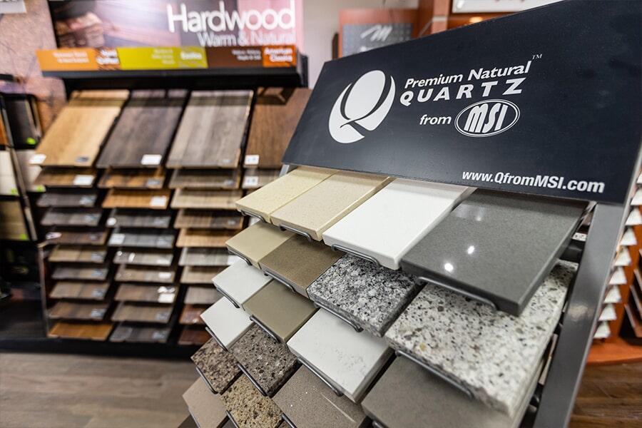 quartz rack