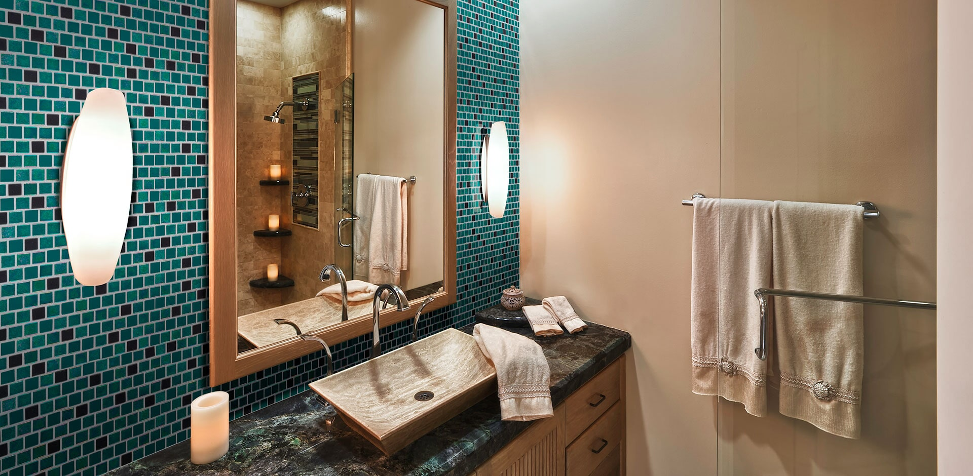 carribean mermaid bathroom design