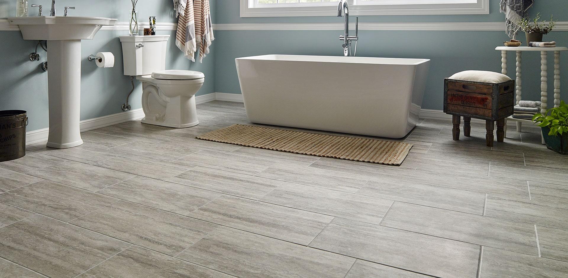 veneto gray bathroom flooring design