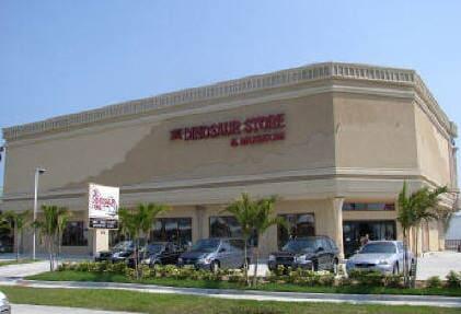 Dinosaur Store Facility, The Dinosaur Store, Cocoa Beach, Florida