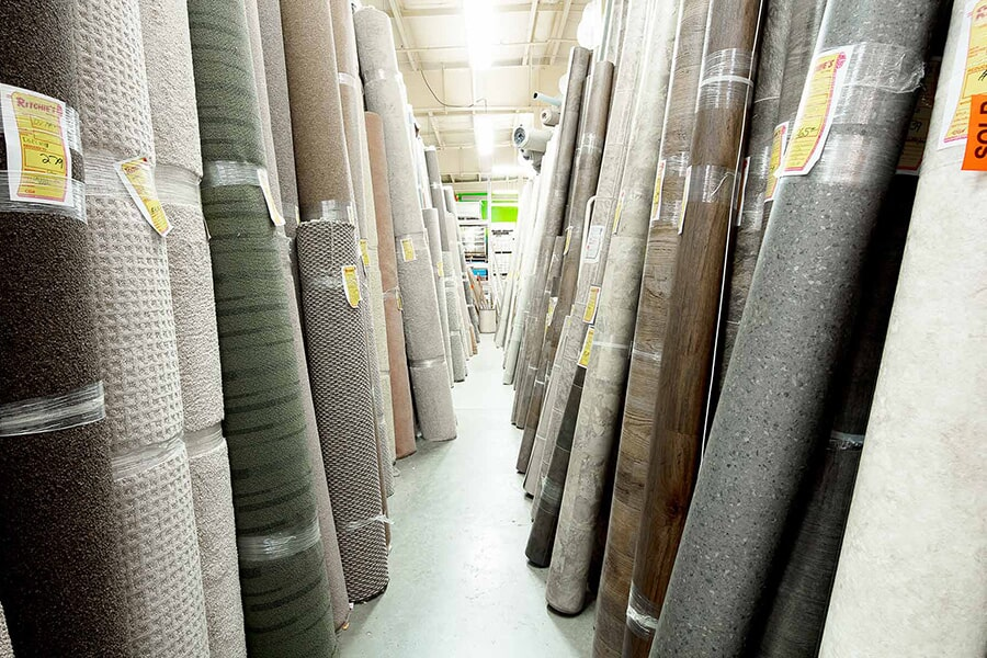 The Ritchie's Flooring Warehouse showroom has everything for your Moncton, NB home