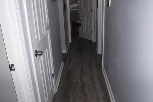 Flooring installation from Cape Fear Flooring & Restoration