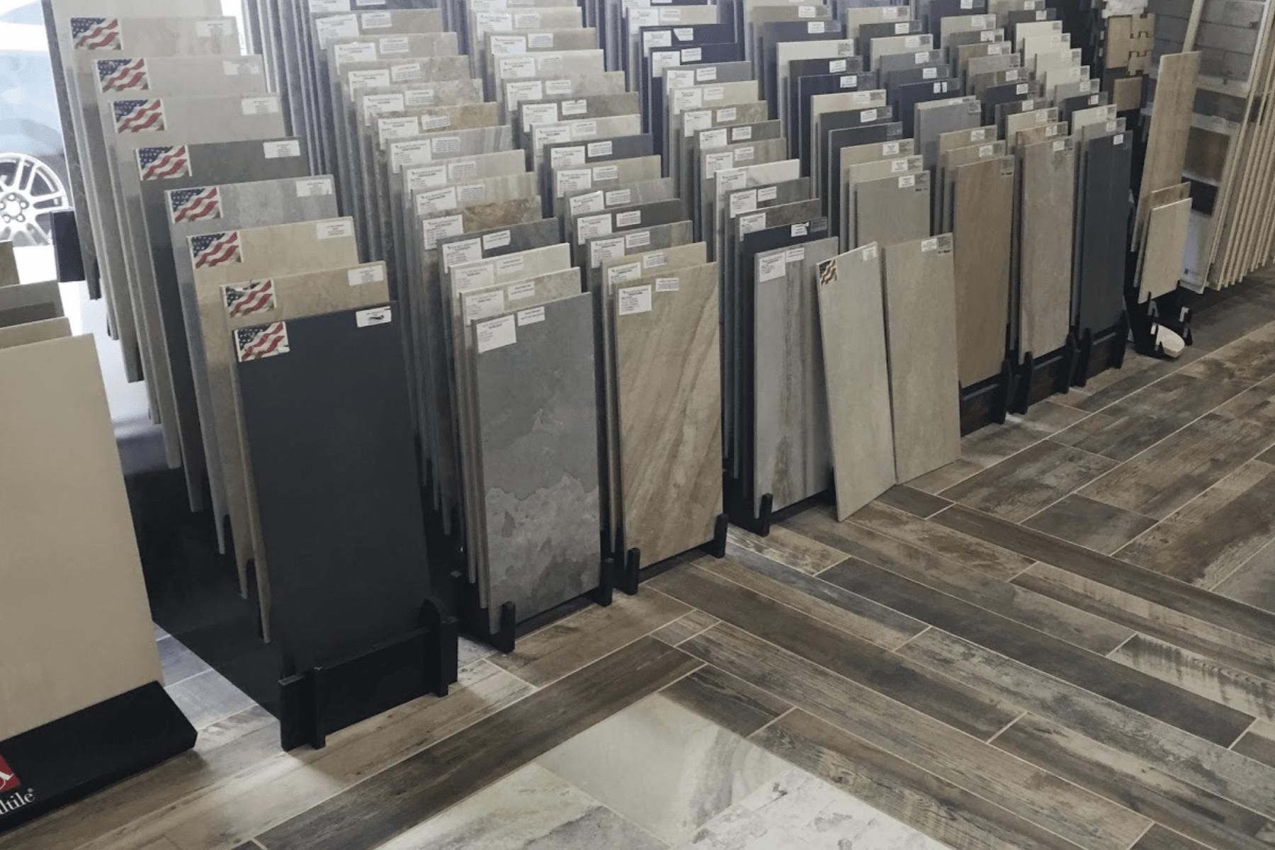 Floorz showroom in Akron, OH