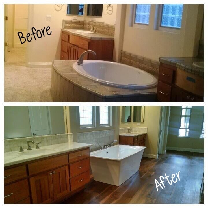 Custom remodeled floors and room in Folsom & Grani (14)