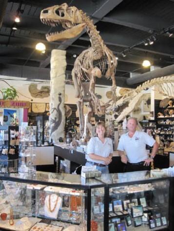 Gift Store, The Dinosaur Store, Cocoa Beach, Florida