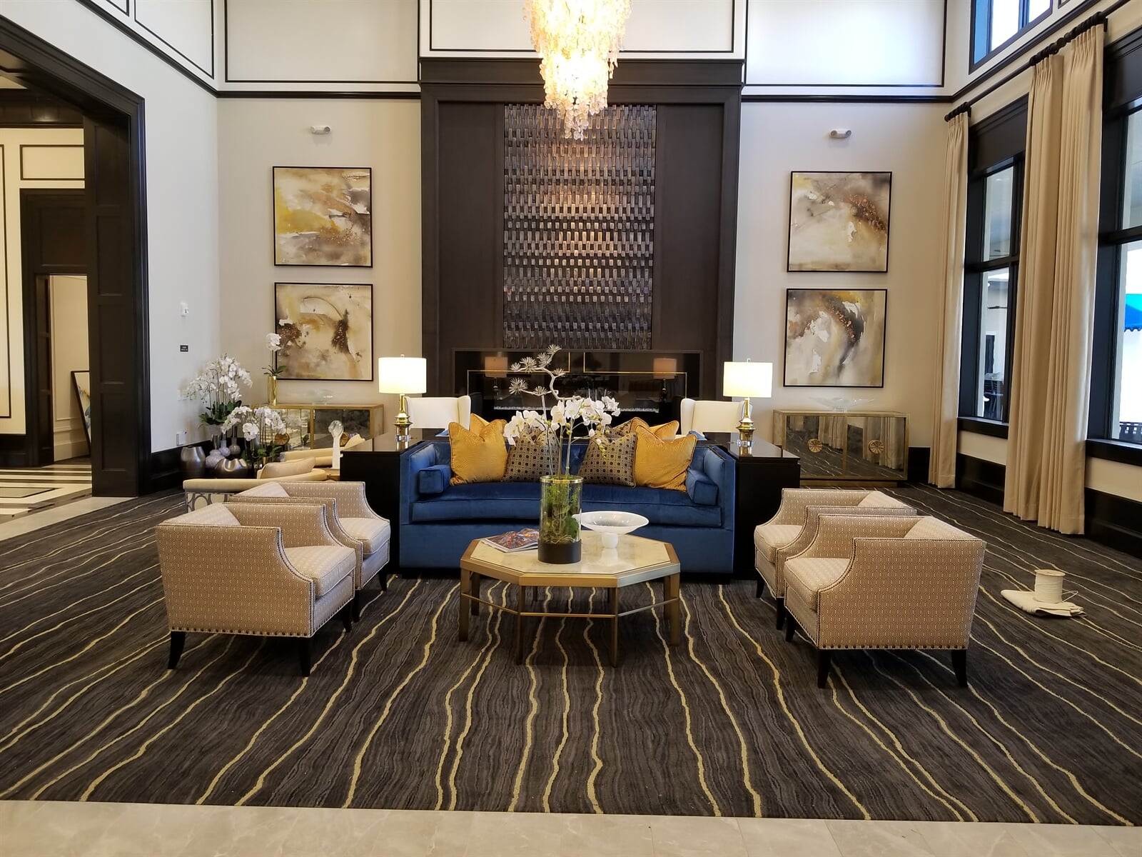 Stylized and patterned carpets for homes and businesses