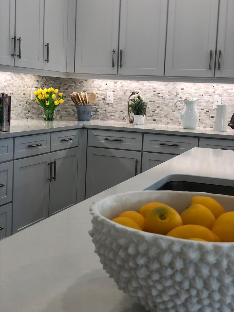 Tiled backsplashes and kitchen accents
