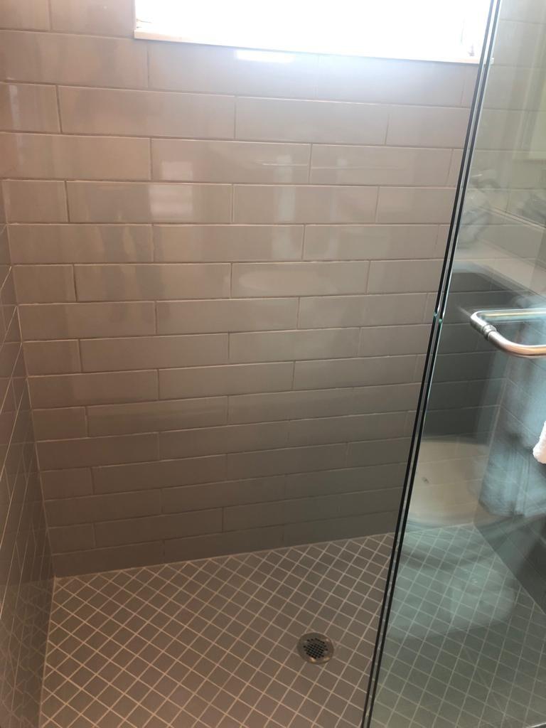 Shower & Bathroom tiling
