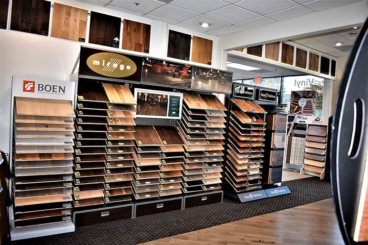 Wide selection of hardwood colors and styles in Burlingame, CA from Luxor Floors Inc.