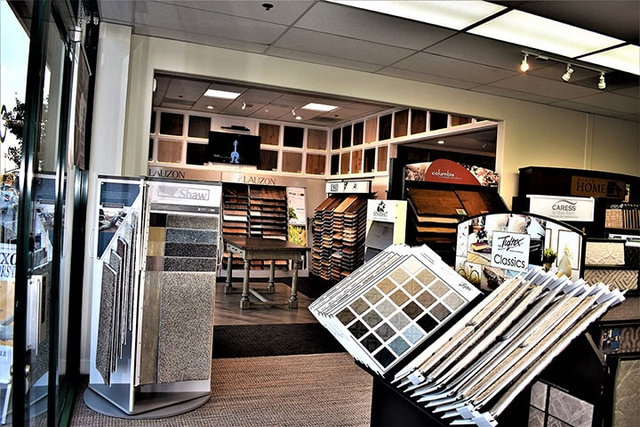 Luxor Floors Inc. Millbrae, CA showroom