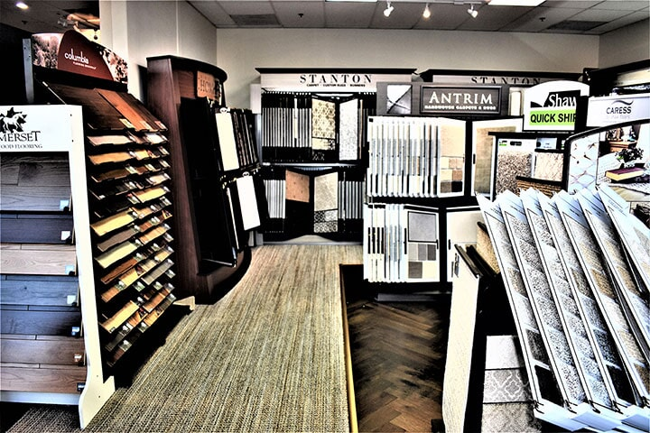 Carpet, tile, laminate, and hardwood flooring samples in Foster City, CA from Luxor Floors Inc.
