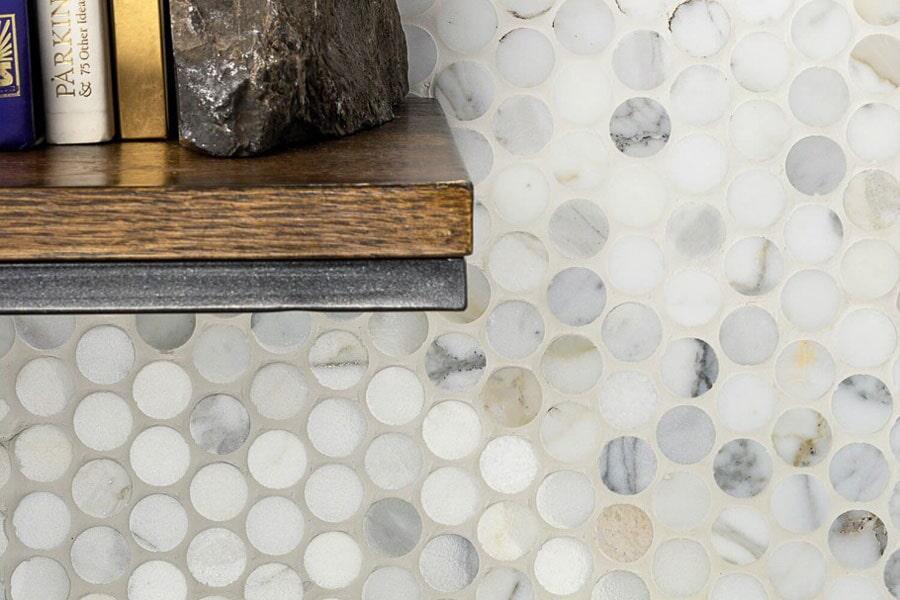 Custom stone bathroom in Hobe Sound, FL from Barefoot Tile & Stone