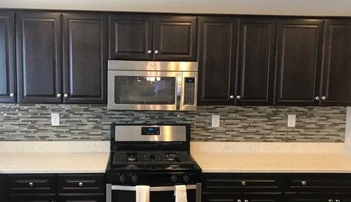 Kitchen remodel and back splash installation