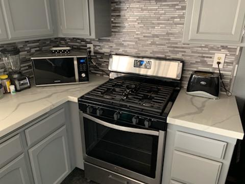 Kitchen remodel and cabinet installation