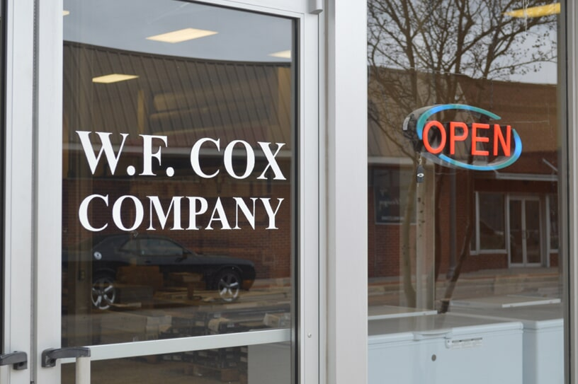 Come into WF Cox today, our hours our on our site!