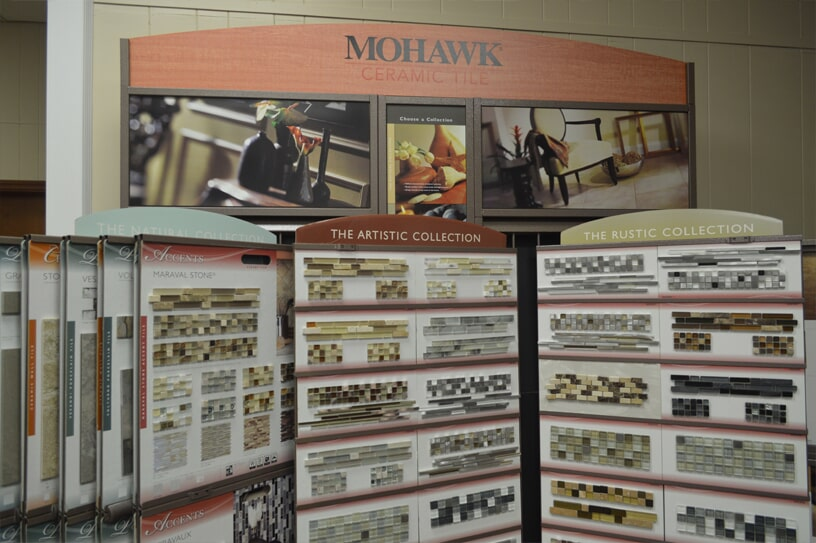 Mohawk glass tile options in Loris, SC from W.F. Cox Company