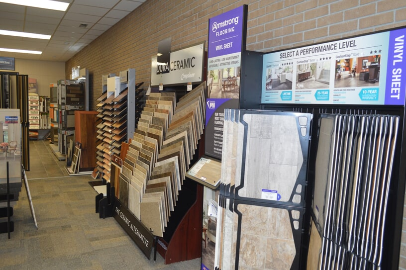Tile flooring selection for your Anyor, SC home