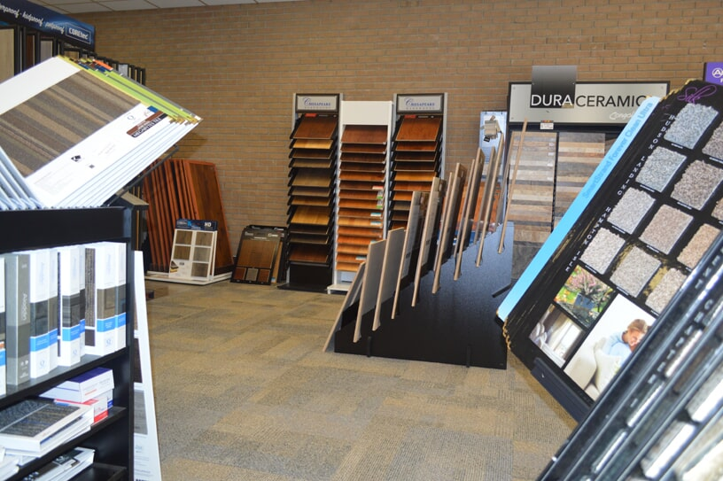 Flooring samples in Whiteville, NC from W.F. Cox Company