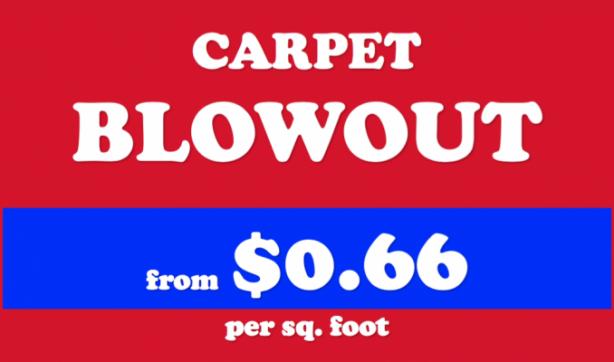 Carpet BLOWOUT - Coastal Carpet and Tile