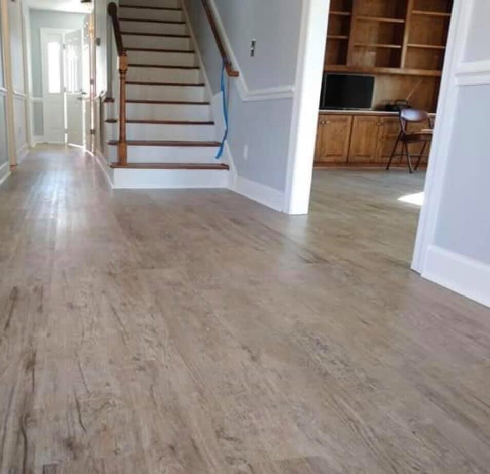 LVP in home in Wilson, NC from Richie Ballance Flooring & Tile