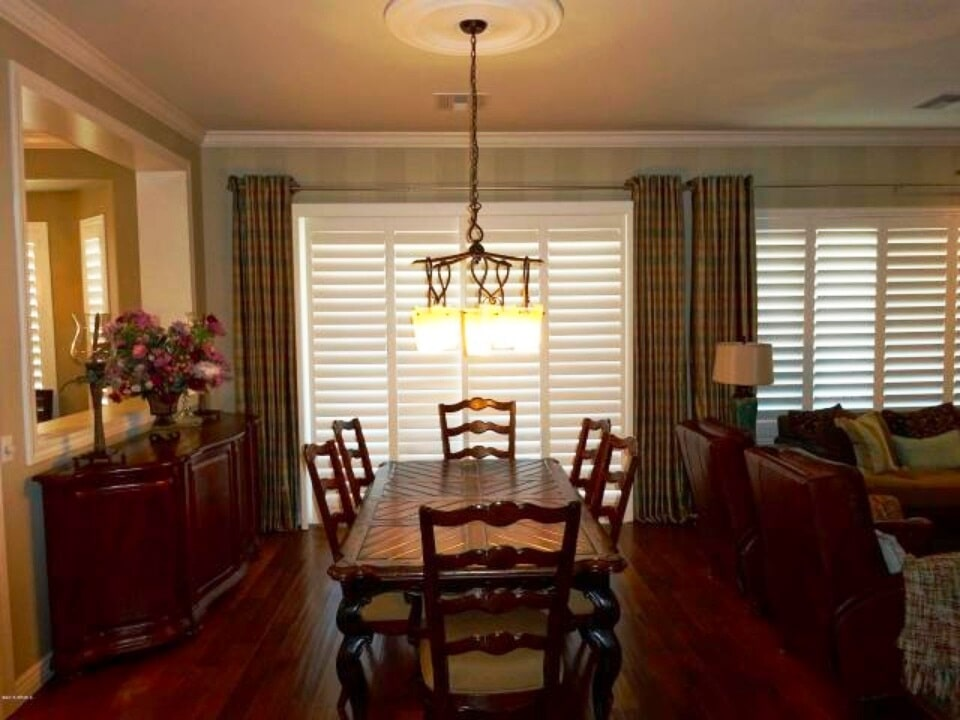Dining room renovation in Phoenix, AZ from The Floor Store