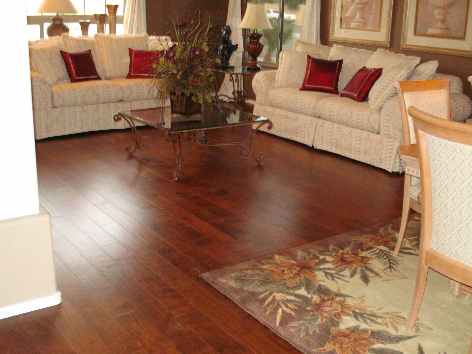 Hardwood flooring installation in Gilbert, AZ from The Floor Store