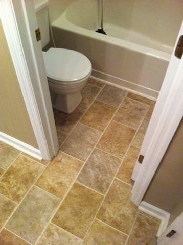 Laminate flooring installation in Fayetteville, NC