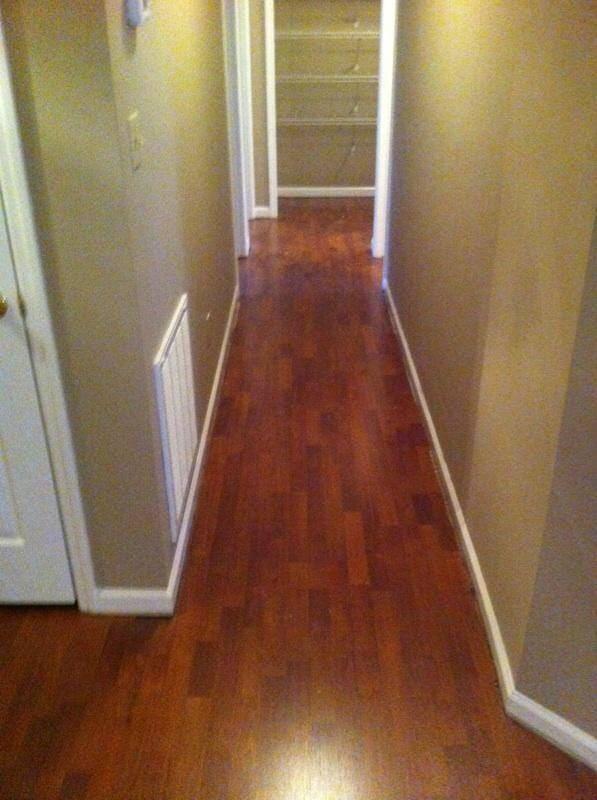 Hardwood flooring installation in Fayetteville, NC