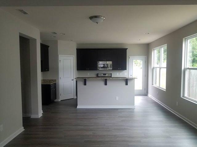 Livingroom remodeling from Cape Fear Flooring & Restoration