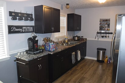 Kitchen remodeling from Cape Fear Flooring & Restoration