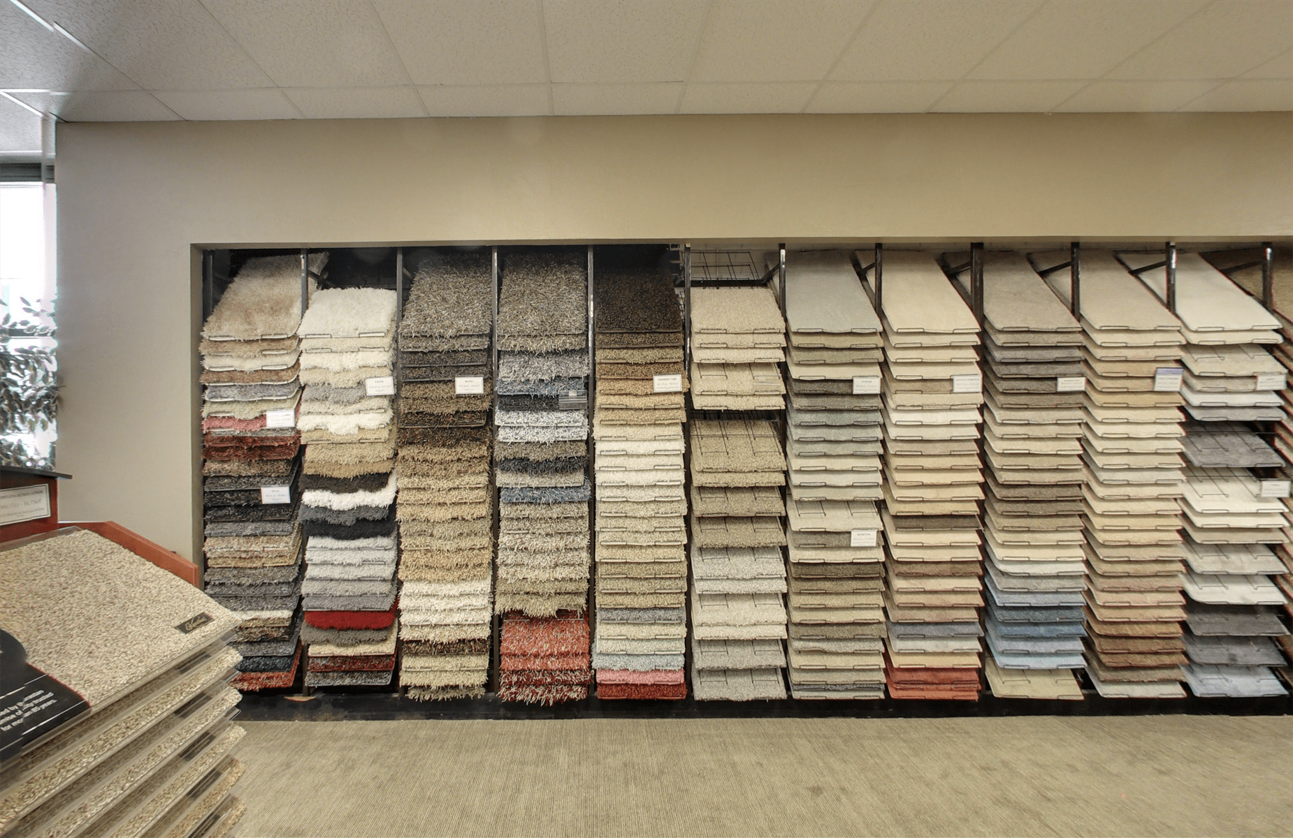 Rug & Carpet of Oklahoma carpet samples in Oklahoma City, OK