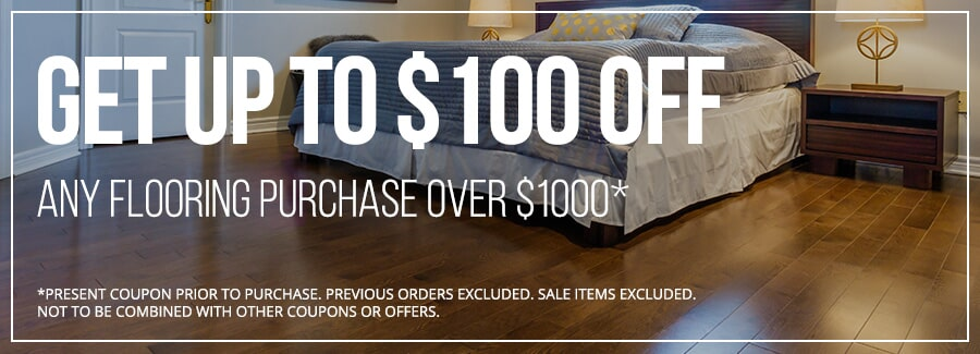 Get $100 off at Creative Floors in Casselberry and Orlando FL