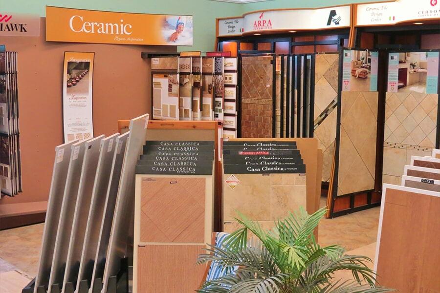Young Interiors Flooring Center flooring showroom in Myrtle Beach, SC