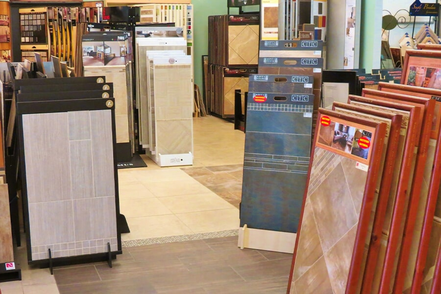 Visit the Young Interiors Flooring Center flooring showroom in Myrtle Beach, SC