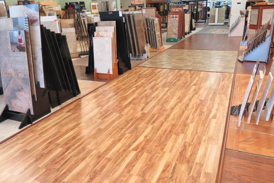 Browse the Young Interiors Flooring Center showroom in Myrtle Beach, SC