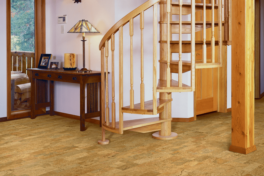 Eco-friendly flooring options such as cork in Wabasha, MN from Malmquist Home Furnishings