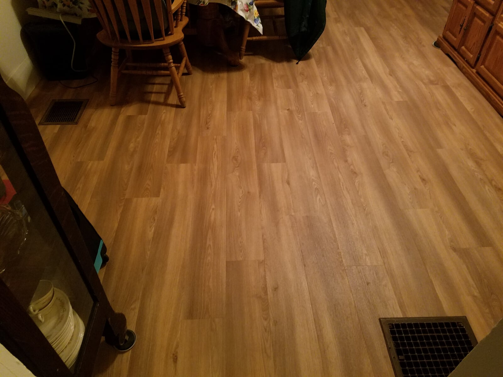 Hardwood Flooring installed by RS Home Repair Services