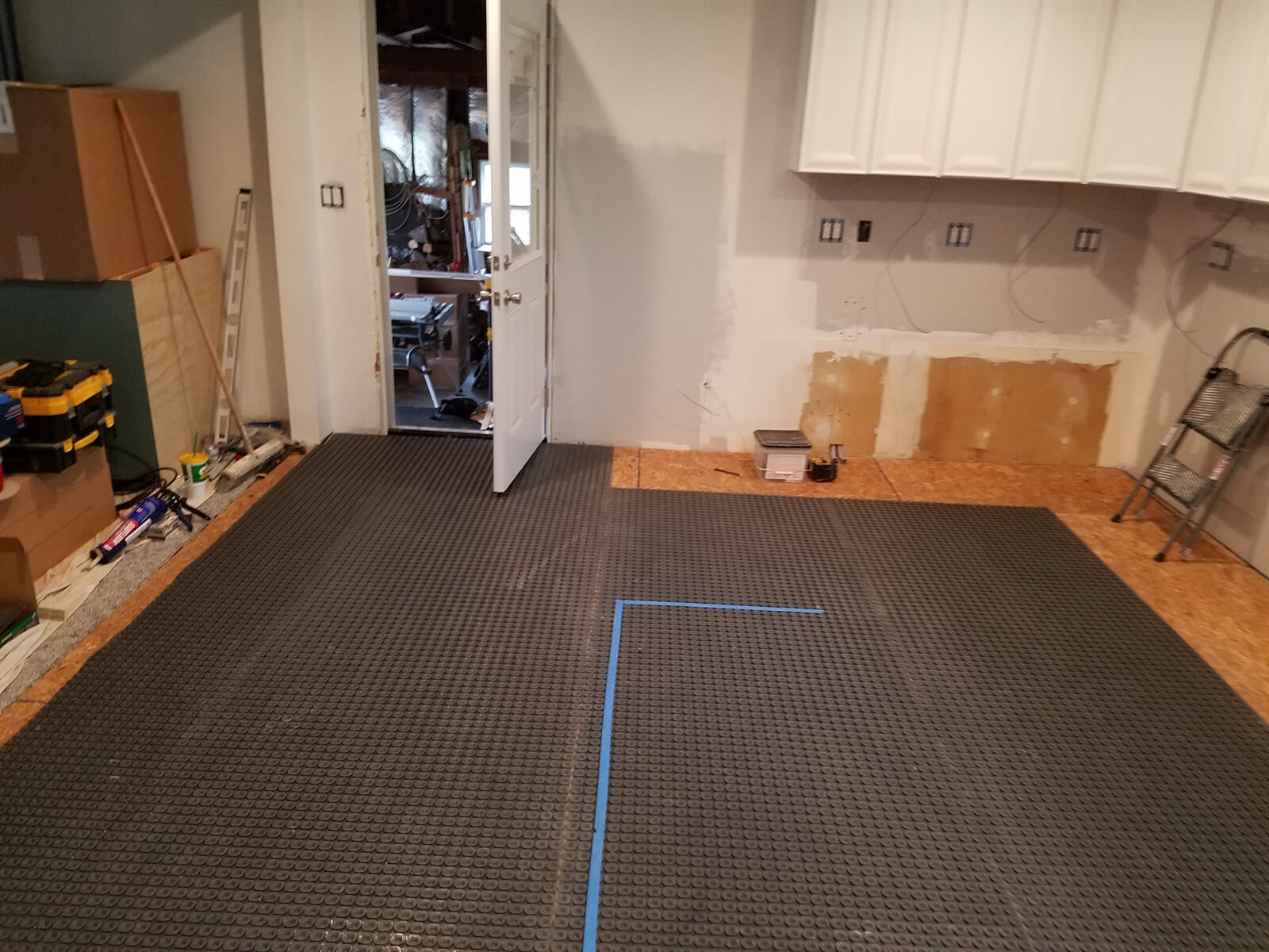Room in house featuring the Nuheat Mat