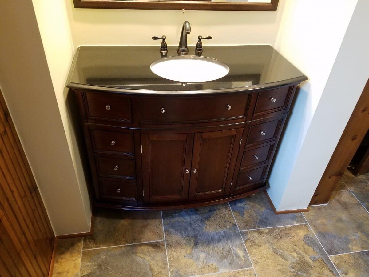 Bathroom Remodel featuring Sink Vanity