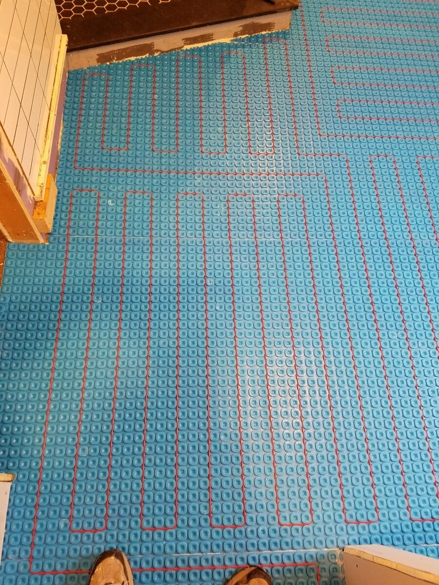 Hydronic Heat Floor Mat