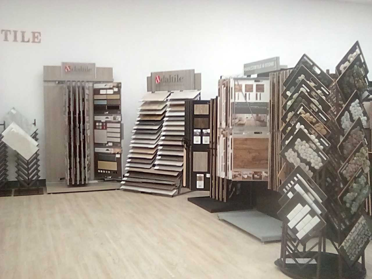 Tile flooring in our Phoenix Metro showroom at The Floor Store