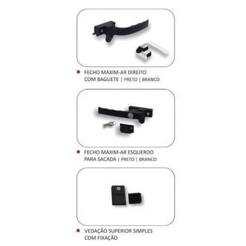 Componentes e Acessórios para Esquadria - Landy Kits