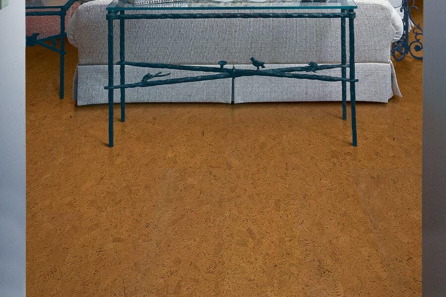 Cork floor installation in York County, PA from Indoor City