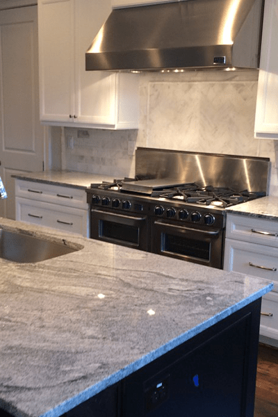 Tile backsplash in Alpharetta, GA from Prestigious Flooring and Design